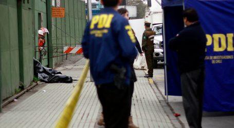PDI investiga balacera que dejó un muerto y un herido en Quilicura