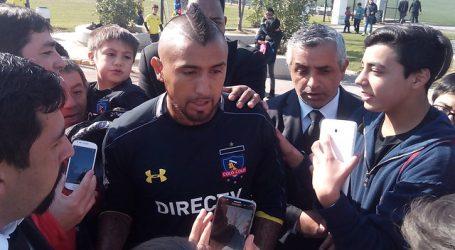 "Arturo Vidal: ""El fútbol chileno se acaba si Colo Colo se va a la B"""