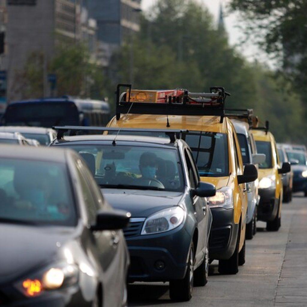 Plan Marzo: Flujo vehicular aumentó un 11,28% respecto del miércoles pasado