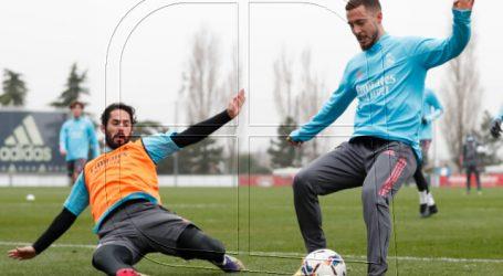 Real Madrid: Ramos y Hazard entrenan con el grupo y podrían volver ante el Elche