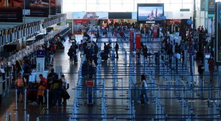 Pasajeros aéreos transportados tuvieron una caída de 69,7% en febrero