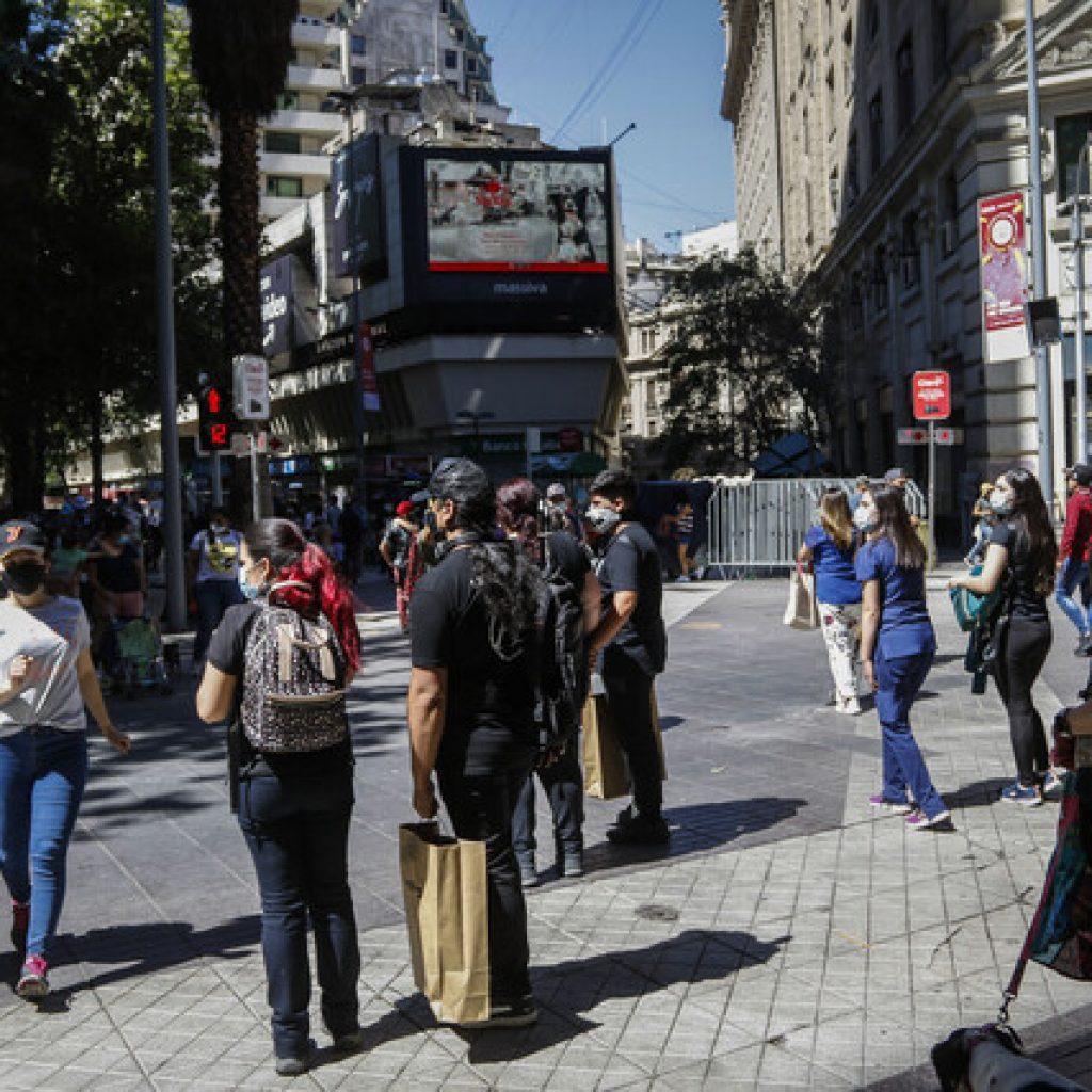 7 comunas de la Región Metropolitana retrocederán a Transición
