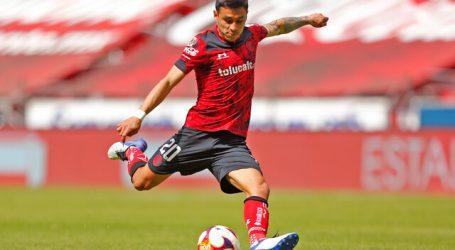 México: Claudio Baeza jugó los 90′ y fue amonestado en triunfo del Toluca