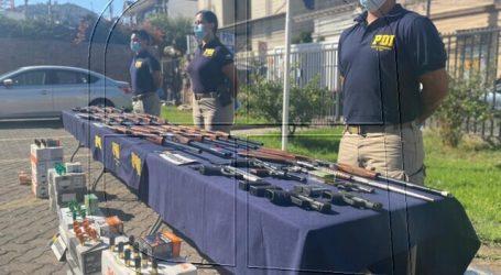 """PDI incauta 23 armas de fuego en segunda parte de """"Operación Alemania"""""""