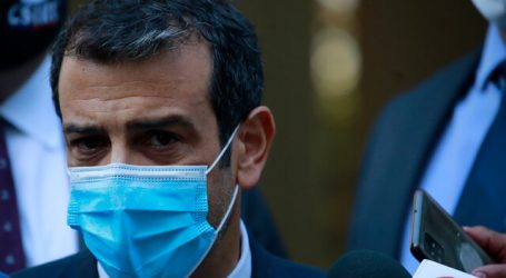 Ministro Rodrigo Delgado fue dado de alta del Hospital de la FACh