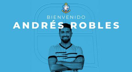 Deportes Antofagasta anunció a Andrés Robles como su nuevo refuerzo