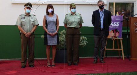 Ministra Zalaquett inaugura sala de atención VIF en Lo Barnechea