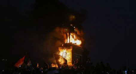 CDE presenta querella por daños a estatua del General Baquedano