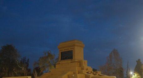 Retiro del monumento a Baquedano terminó con 5 personas detenidas