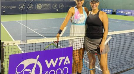 Tenis: Alexa Guarachi se corona campeona del dobles en WTA 1.000 de Dubai