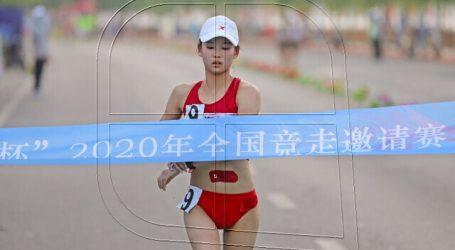 Atletismo: China Yang Jiayu bate el récord del mundo de 20 km marcha