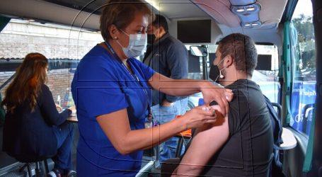 Más de 100 mil trabajadores del transporte ya fueron vacunados en todo el país