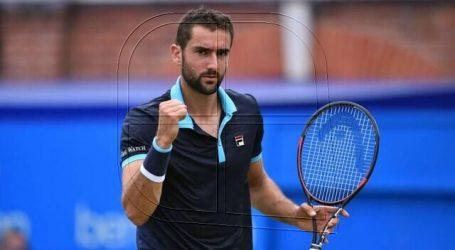 Tenis: Cilic será el rival de Garin en segunda ronda del Masters 1.000 de Miami