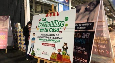 La Feria Libre en tu casa: Lanzan listado de feriantes con despacho a domicilio