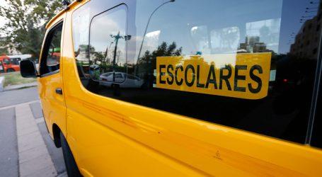Refuerzan recomendaciones a apoderados sobre seguridad en el transporte escolar