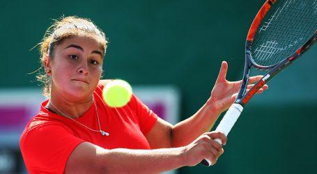Tenis: Bárbara Gatica accedió a octavos de final en torneo W15 de Villa María