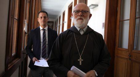 Monseñor Aós fue dado de alta del hospital tras contagio por COVID-19
