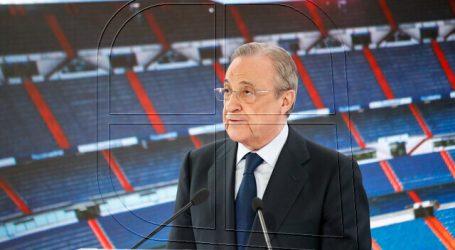 """Florentino Pérez: """"La Superliga es por el bien del fútbol y para salvarlo"""""""