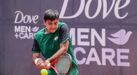 Tenis: Tomás Barrios cayó en primera ronda del Challenger de Salinas 2