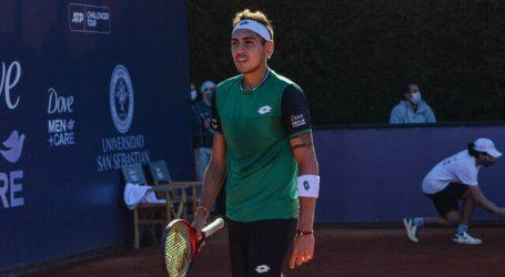 Tenis: Alejandro Tabilo avanzó a segunda ronda del Challenger de Ostrava
