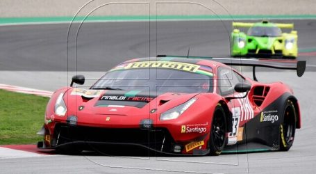 Hites correrá en el auto reserva en el inicio del GT World Challenge de Europa