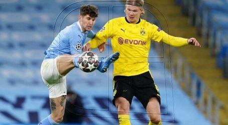 Champions: Manchester City logra en suelo inglés leve ventaja sobre el Dortmund