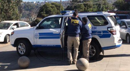 PDI detuvo a sujetos que comercializaban droga en Cartagena