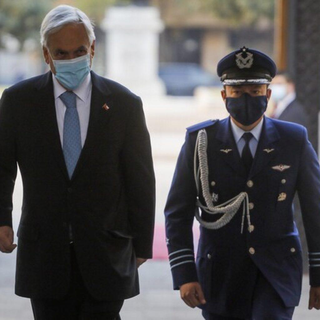 Presidente Piñera defendió beneficios sociales del Gobierno ante tercer retiro