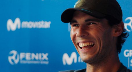 """Rafael Nadal: """"Estoy contento, cada día voy haciendo cosas positivas"""""""