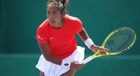 Tenis: Daniela Seguel escaló 19 puestos y vuelve al 'Top-200' en ranking WTA