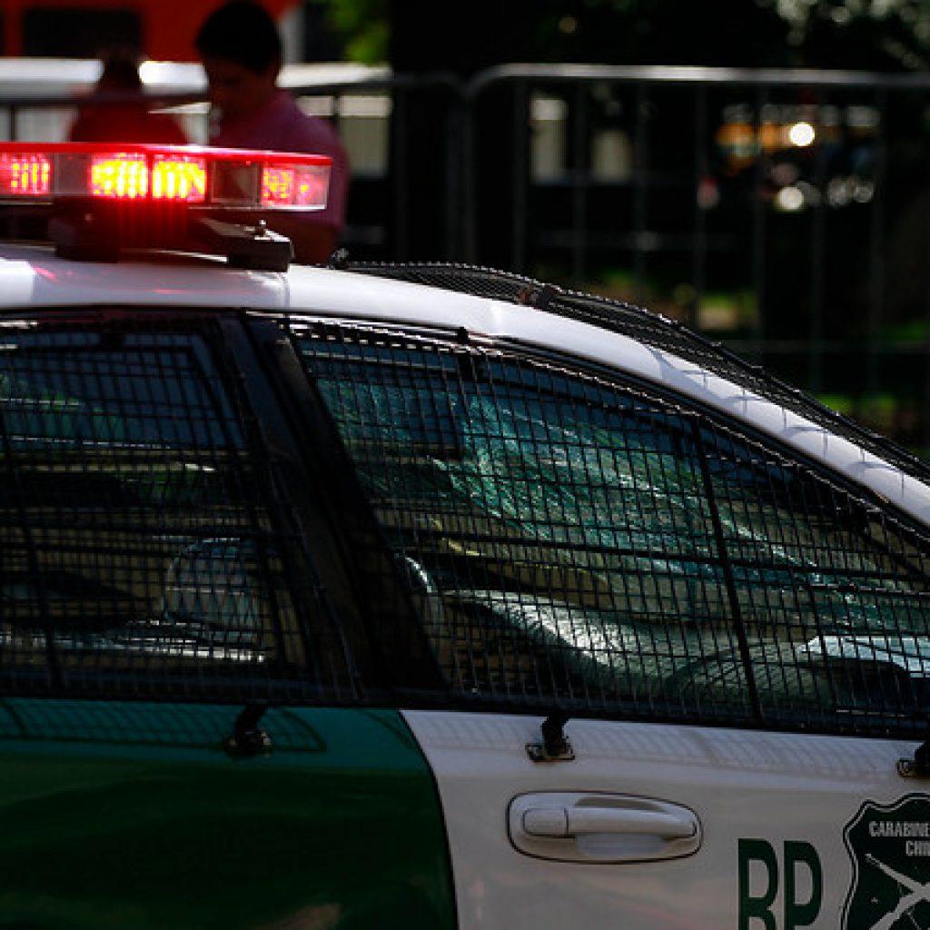 Carabineros detuvo en Santiago a prófugo por agresión sexual a menor en Temuco