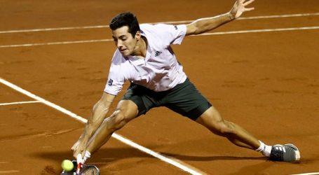 Cristian Garin sufrió su primera derrota en el Ultimate Tennis Showdown 4