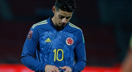 James Rodríguez no jugará la Copa América con Colombia