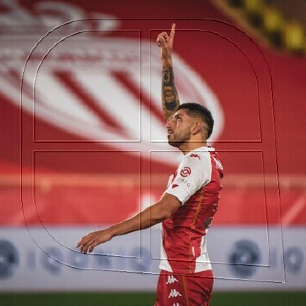 Francia: AS Mónaco con Maripán igualó en visita a Lens y asegura Champions