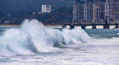 Armada emitió alerta de marejadas entre el Golfo de Penas y Arica