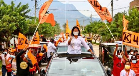 Fujimori desafía a Castillo a debatir frente a la cárcel donde estuvo presa