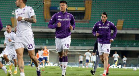 Serie A: Erick Pulgar fue titular en empate de Fiorentina ante Cagliari