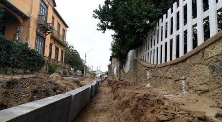 Denuncian daños a casa de Nicanor Parra por obras de pavimentación