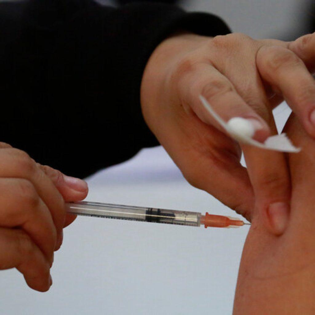 60% de la población objetivo ha sido vacunada con primera dosis