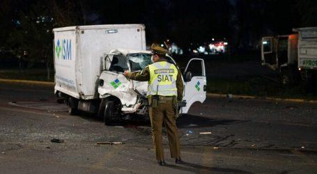Conductor de camión murió en accidente de tránsito en Providencia