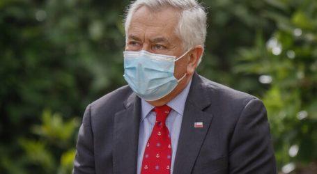 Ministro Paris entregó recomendaciones sanitarias para ir a votar