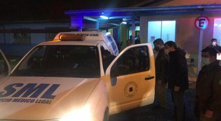 """Fiscalía explica que carabinero muerto en Collipulli fue atacado en """"emboscada"""""""