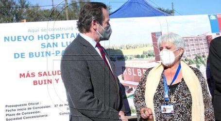 Entregan terreno para la construcción de nuevo Hospital de Buin-Paine