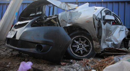 Choque entre auto y tren de carga dejó una persona lesionada en Renca