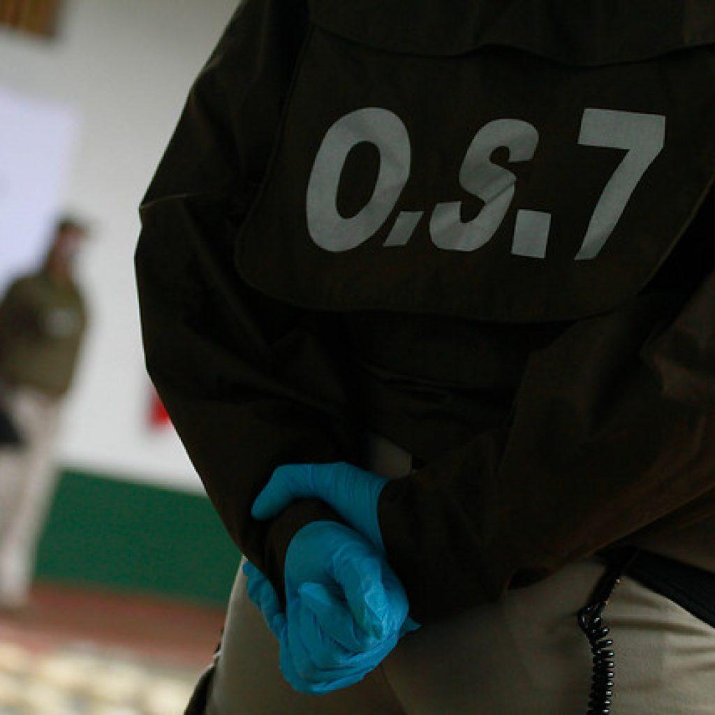Carabineros decomisa más de 400 kilos de drogas en la comuna de San Bernardo