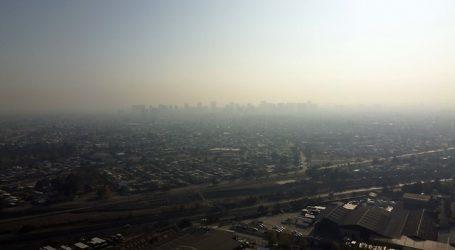 Se constata Preemergencia Ambiental este domingo en la Región Metropolitana