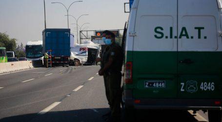 Joven de 18 años falleció tras accidente en la Autopista Central