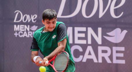 Tenis: Tomás Barrios se instaló en semifinales del Challenger de Almaty 2