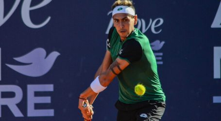 Tenis: Tabilo se bajó del Challenger 100 de Lyon por molestias en la espalda