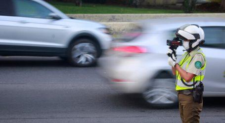 Radar detecta más de 105 mil vehículos a exceso de velocidad en Estación Central